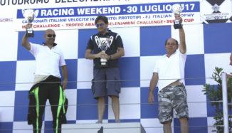 ACI Racing - Mauro Cesari podium - BlackM - SiisSoft