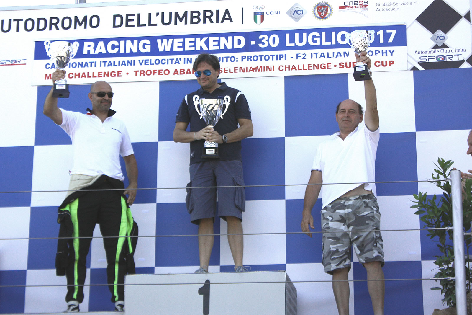 ACI Racing - Mauro Cesari podium - BlackM - SiisSoft